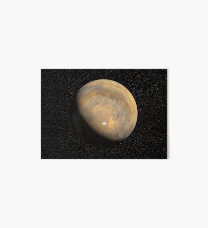 Globale Sicht des Mars Galeriedruck