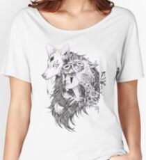 Princess Mononoke -Ghibli Studio Women's Relaxed Fit T-Shirt