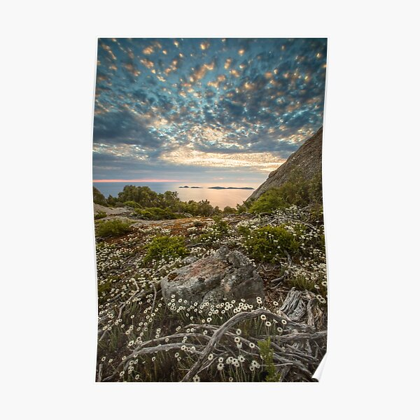 Great Glennie Island from Mt Oberon Poster