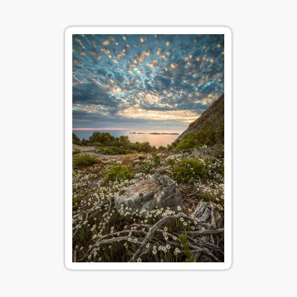 Great Glennie Island from Mt Oberon Sticker
