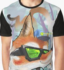 Camiseta gráfica fox
