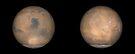Globale Ansichten des Mars im späten Nordsommer. von StocktrekImages