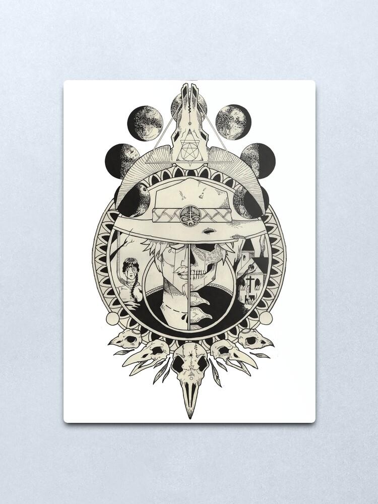 Alternate view of What the Devil ... Metal Print