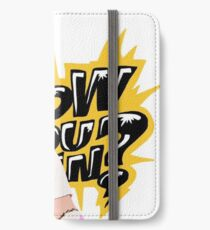 Enzo Amore  iPhone Wallet/Case/Skin