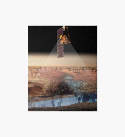 Ansicht des Künstlers von Odyssey, das Eis ermittelt. Galeriedruck
