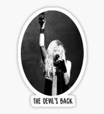 The Devil's Back - Momsen Sticker