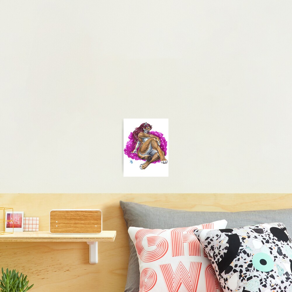 Saber-Toothed Beauty Photographic Print