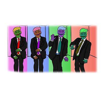 Donald Trump | Pepe by ContrastApparel