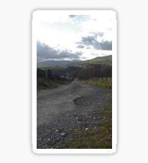 Rural path Sticker
