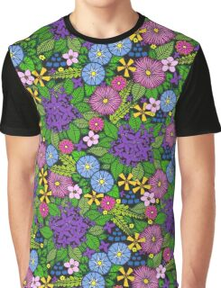 Wild Wildflowers T-shirt Graphique