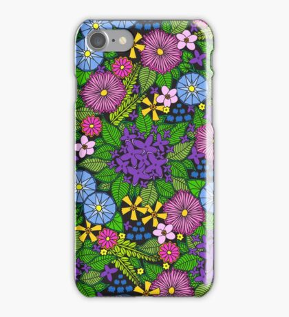 Wild Wildflowers iPhone Case/Skin