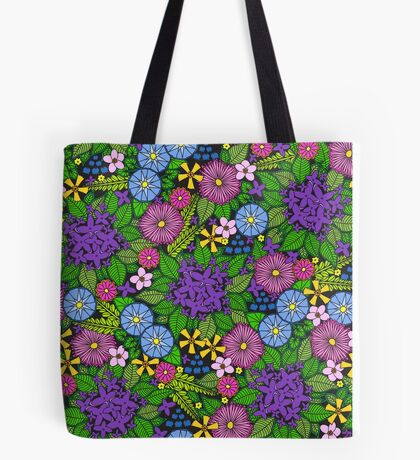 Wild Wildflowers Tote Bag