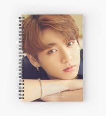 Jungkook BTS Spiral Notebook