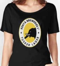 Tusker Lager Logo Women's Relaxed Fit T-Shirt