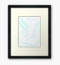 Abstract Genius Scientist Framed Print
