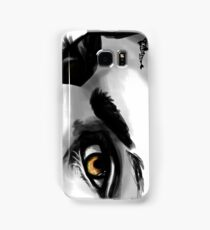Fire in my eyes Samsung Galaxy Case/Skin