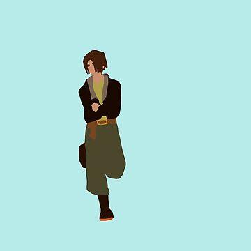 Minimalist Jim Hawkins by mynnispunk