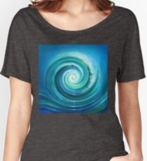 The Return Wave Women's Relaxed Fit T-Shirt