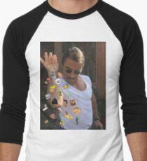 Salt Bae Sprinkling Memes Men's Baseball ¾ T-Shirt