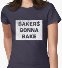 Bakers Gonna Bake Funny Baking Cooking Chefs Graphic Tee Shirt T-Shirt