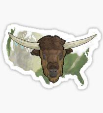 World Bison Day 2016 Sticker