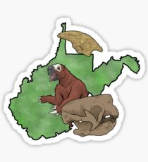 State Fossil West Virginia Sticker