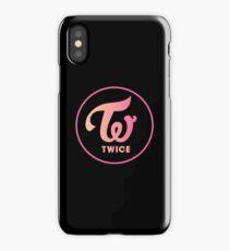 twice apricot neon magenta iPhone Case
