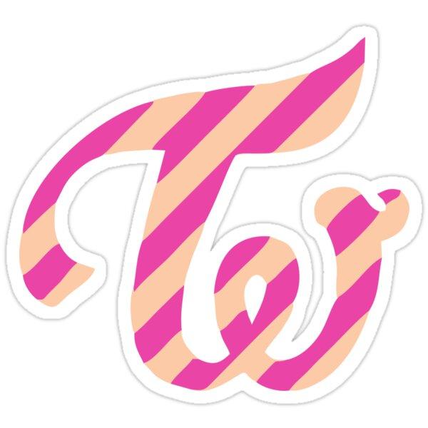 """twicecoaster twice logo"" Stickers by yeongwonhikpop ..."