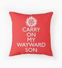 SUPERNATURAL UNOFFICIAL THEME SONG SAM AND DEAN WINCHESTER Throw Pillow