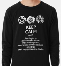 SUPERNATURAL - SPEAKING LATIN Leichter Pullover
