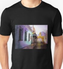 Antigua Guatemala Watercolor Painting Unisex T-Shirt
