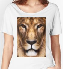 Animal King Women's Relaxed Fit T-Shirt