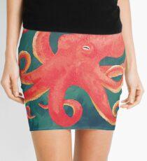 Giant Pacific Octopus Mini Skirt