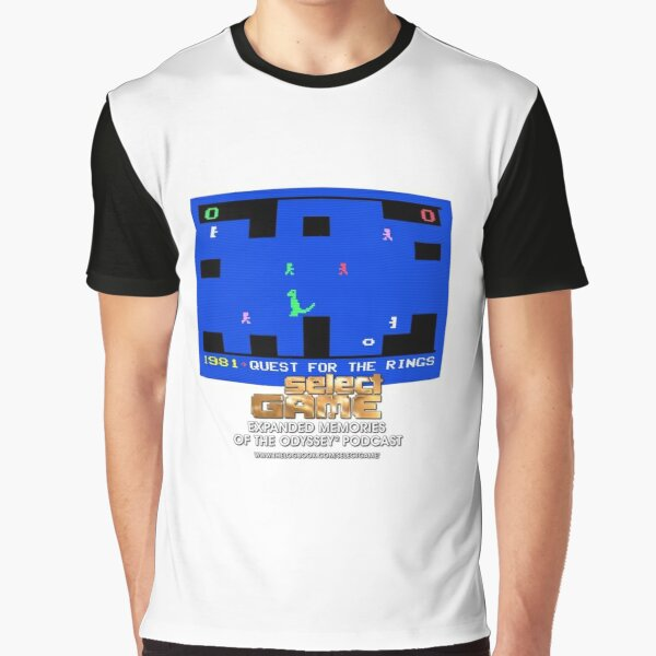 Select Game Podcast: Quest For The Rings Graphic T-Shirt