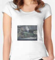 French pacific at Calais. Women's Fitted Scoop T-Shirt