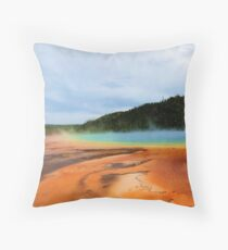 Blistered in the Sun Throw Pillow
