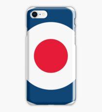 RAF MOD Roundel Logo iPhone Case/Skin