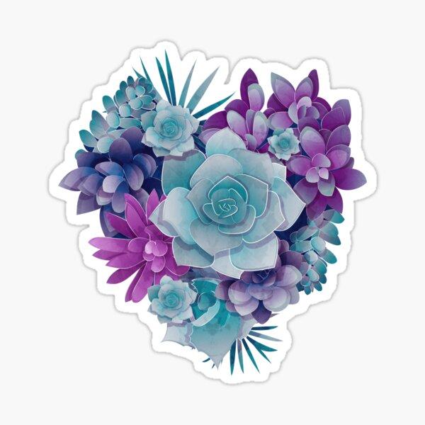 Succulent Love II Sticker