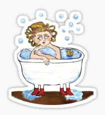 Dwarf lady Sticker