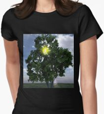 Lens Flare thru Tree T-Shirt