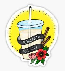 Horchata For Life  Sticker