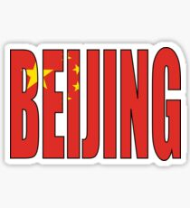 Beijing. Sticker