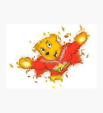 Superted Photographic Print