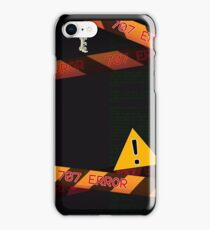 Mystic Messenger Error 707 iPhone Case/Skin