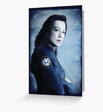 Agent Melinda May Greeting Card