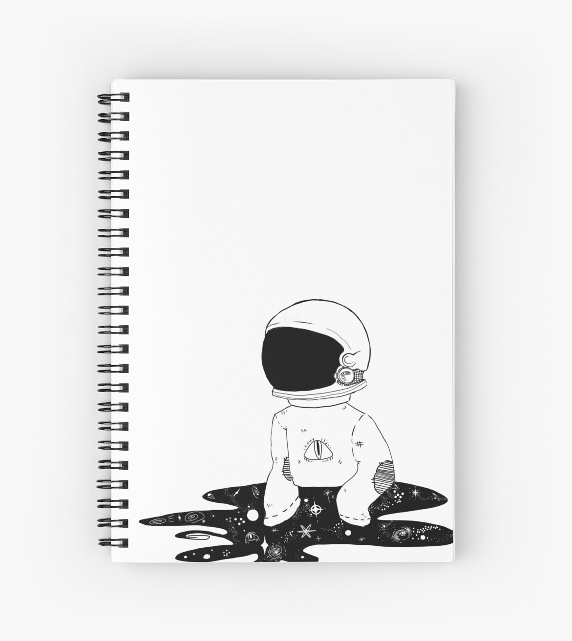 tumblr astronaut spiral notebooks by unaesthetic redbubble