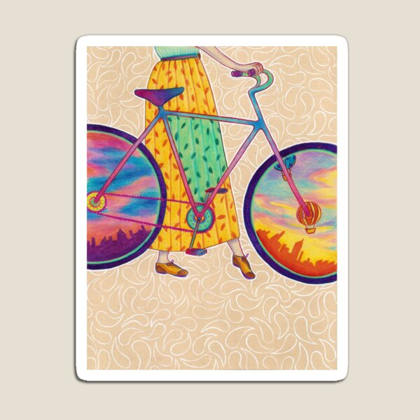 Bike tour Magnet