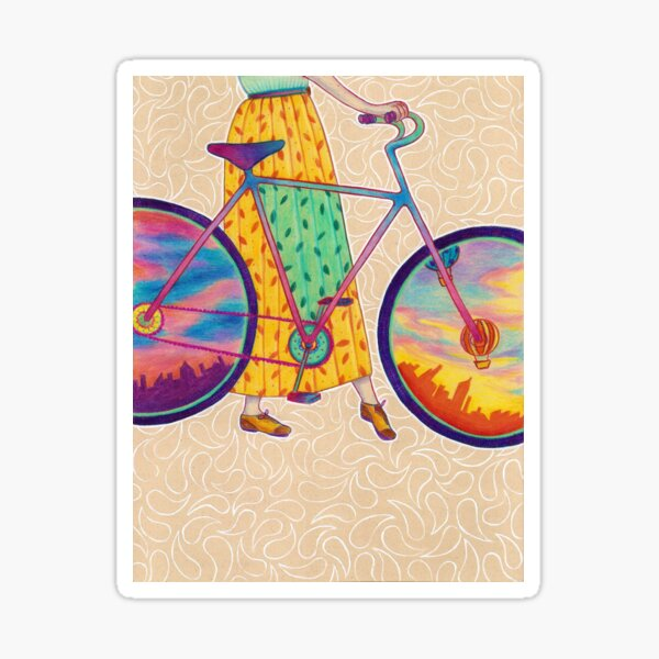 Bike tour Sticker