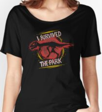 I survived the park Women's Relaxed Fit T-Shirt