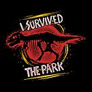 I survived the park by Azafran
